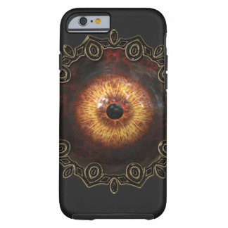 Evil zombie eye iphone case