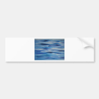 Evitavic paintings collection Blue Sky Bumper Sticker