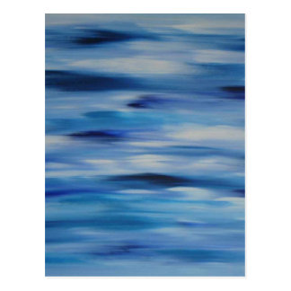 Evitavic paintings collection Blue Sky Postcard