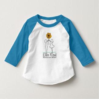 EVM Toddler 3/4 Sleeve Blue T-Shirt