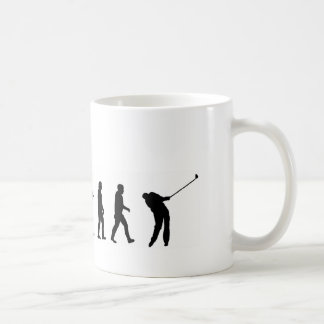 EVO06 evolution golf, golfer Coffee Mug