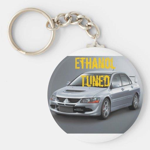 Evo8 Ethanol Tuned Keychain