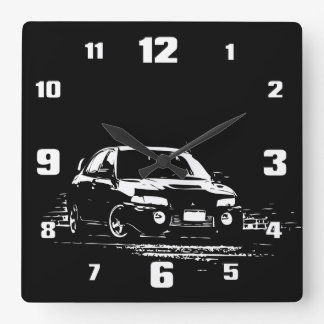 EVO 9 WALL CLOCKS