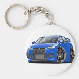 Evo Blue Car Key Ring