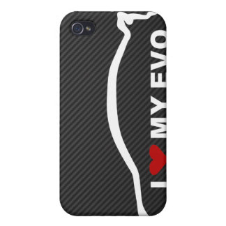 EVO - I Love my EVO Cover For iPhone 4
