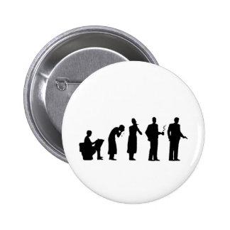 evolution 6 cm round badge