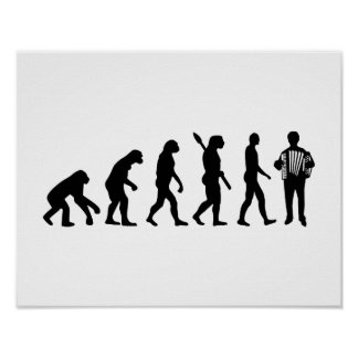 Evolution Accordion player Poster