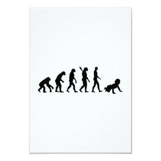 Evolution Baby Custom Invites