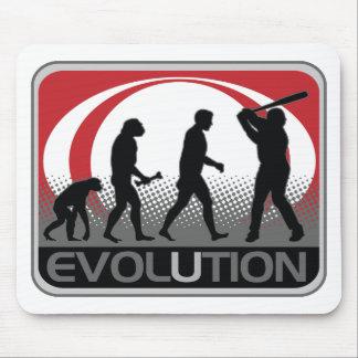 Evolution Baseball Mouse Pad