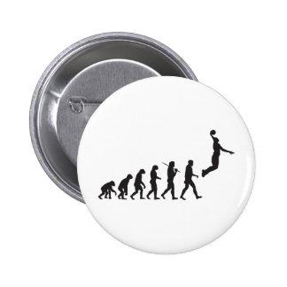 Evolution - Basketball Jump 6 Cm Round Badge