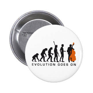 evolution bass 6 cm round badge