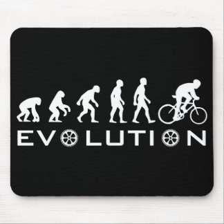 Evolution Bike Black Mouse Pad