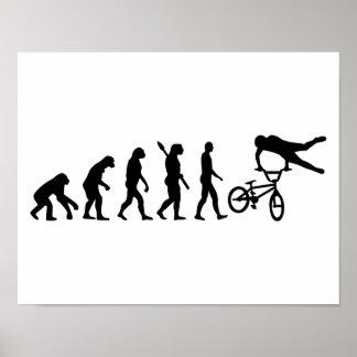 Evolution BMX Poster
