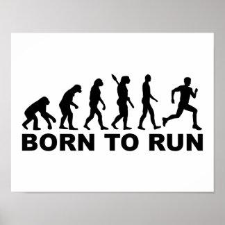 Evolution Born to run Poster