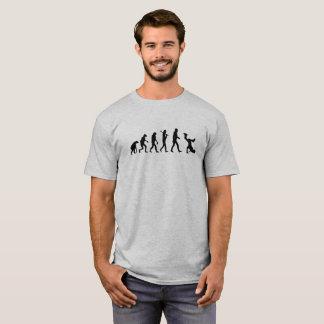 Evolution Breakdance Black logo Funny T-Shirt