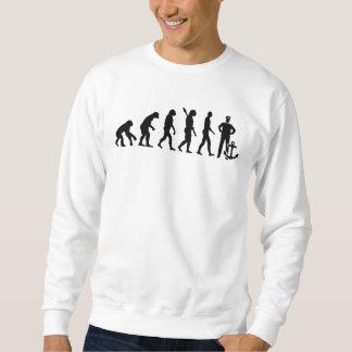 Evolution captain sweatshirt