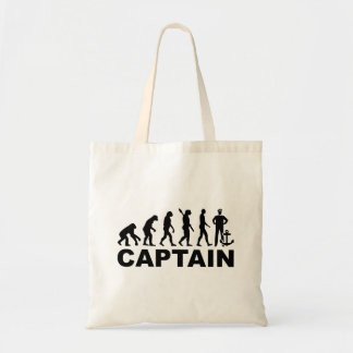 Evolution captain tote bag