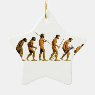 EVOLUTION CERAMIC STAR DECORATION