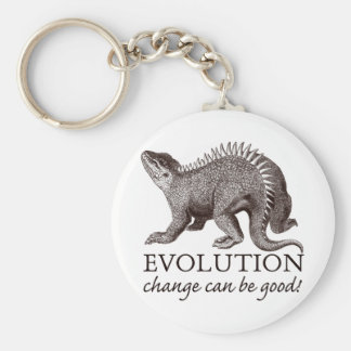 Evolution change can be good! key ring