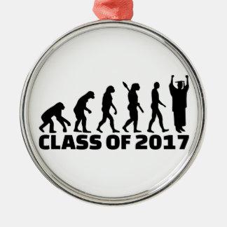 Evolution Class of 2017 Metal Ornament