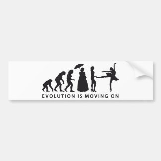 evolution clench bumper sticker