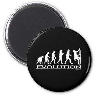 Evolution - Climbing 6 Cm Round Magnet