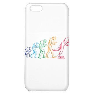 Evolution colors Case For iPhone 5C