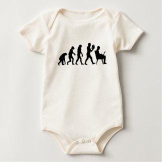 Evolution Computer Office Baby Bodysuit