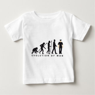 evolution copilot, sheriff, marshal, policeman baby T-Shirt
