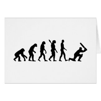 Evolution Cricket Card