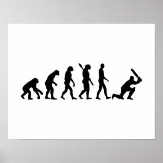Evolution Cricket Poster