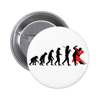 Evolution - Dancing 6 Cm Round Badge