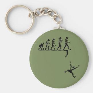 Evolution & Destiny Basic Round Button Key Ring