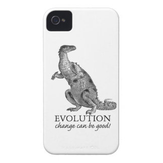Evolution Dinosaur iPhone 4 Case-Mate Case