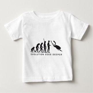 evolution diving baby T-Shirt