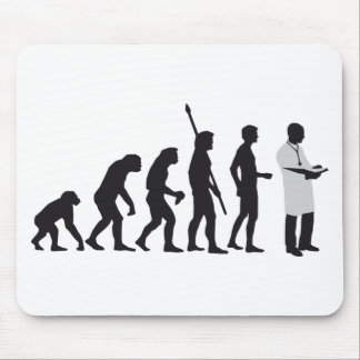 Evolution Doctor Mouse Pad
