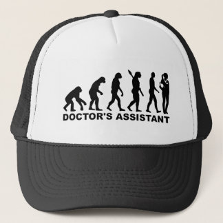 Evolution doctor's assistant trucker hat