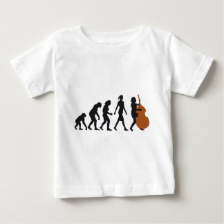 evolution double bass more player baby T-Shirt