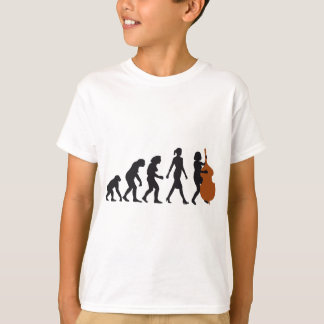 evolution double bass more player T-Shirt