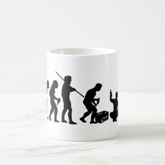 Evolution - drinking/party coffee mugs