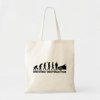 Evolution driving instructor tote bag