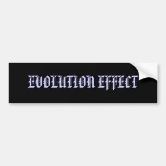 EVOLUTION EFFECT BUMPER STICKER