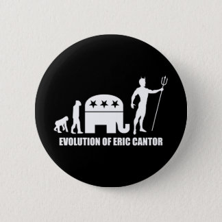 evolution Eric Cantor 6 Cm Round Badge