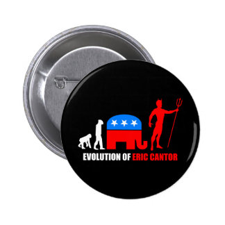 evolution Eric Cantor Pin