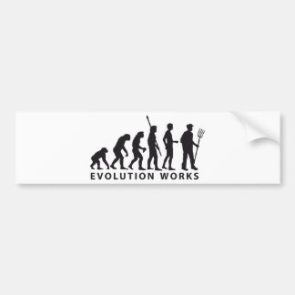 evolution far MER Bumper Sticker