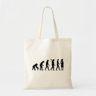 Evolution female doctor tote bag