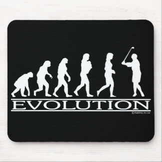 Evolution - Female - Golf Mouse Pad