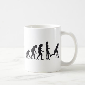 evolution female hockey coffee mugs