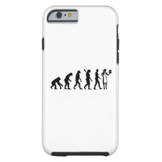 Evolution female pastry chef tough iPhone 6 case