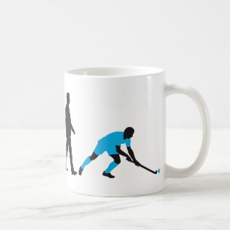 evolution fieldhockey more player basic white mug